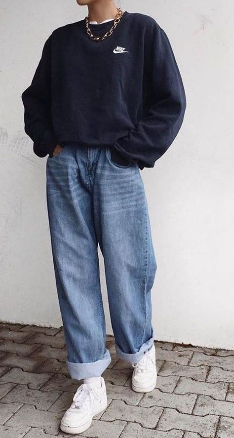 comment porter jean mom casual