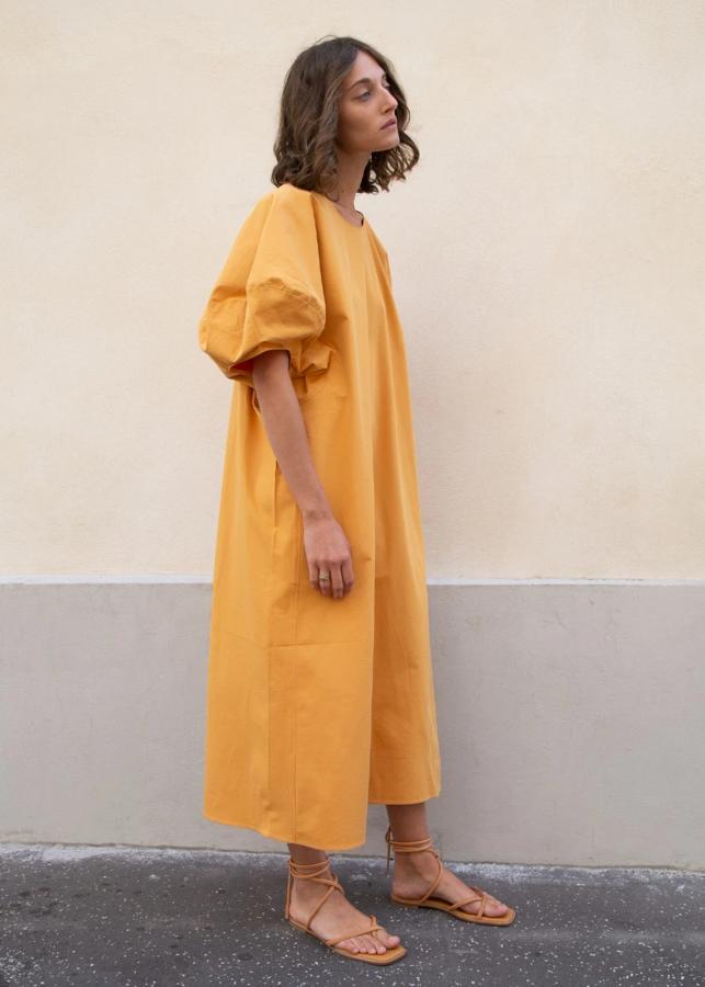 5 idées de looks en robe jaune