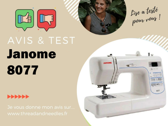 Test et avis de la Janome 8077