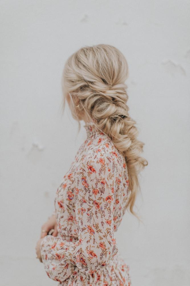 robe fleurie hiver