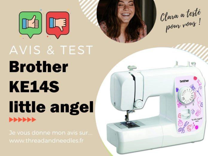 Brother KE14S little angel test et avis
