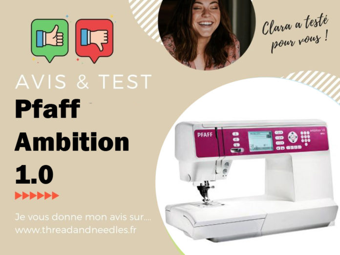 Pfaff ambition 1.0 : test et avis