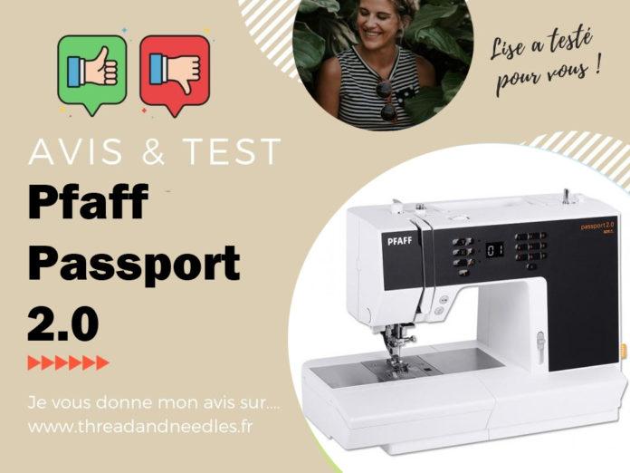 Pfaff passport 2.0 test et avis