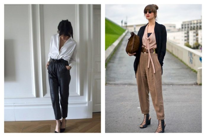 Le pantalon carotte conseils et idées looks pour être sublime dedans