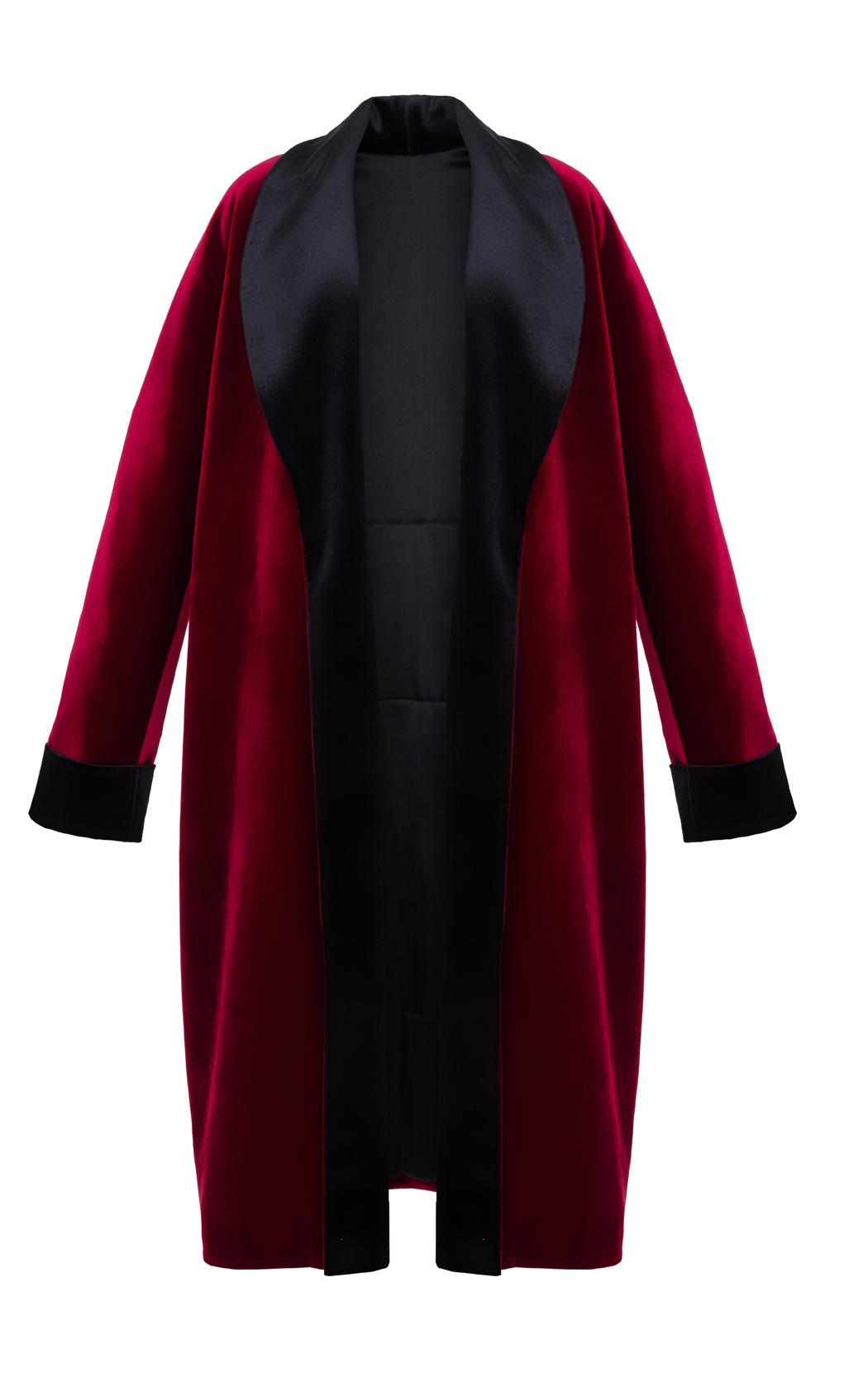 veste velours tendance