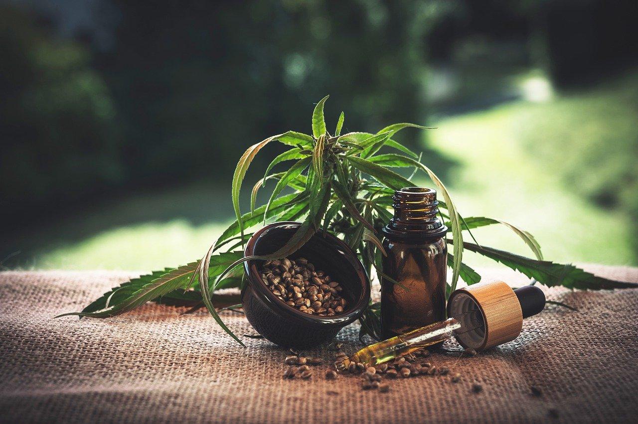 bienfaits huile de chanvre beauté