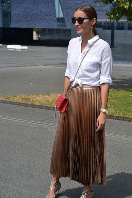 la jupe longue bohème