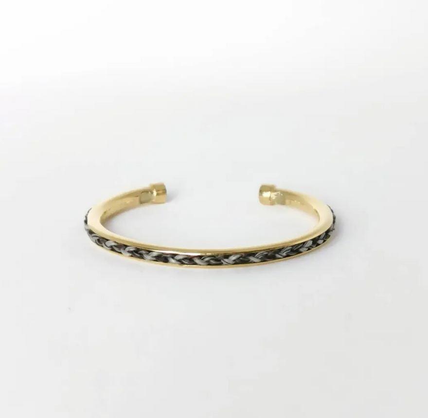 bracelet crin cheval