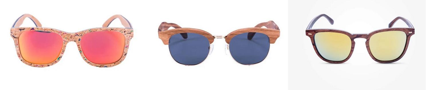 lunettes soleil en bois NordicWood
