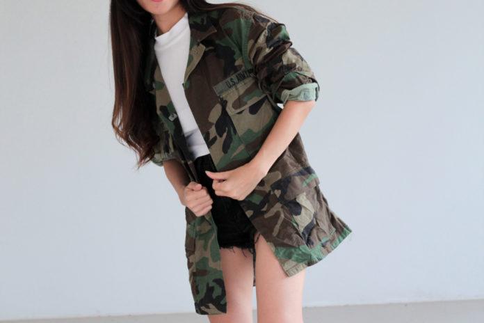 Blouson militaire pour femme comment être stylée avec