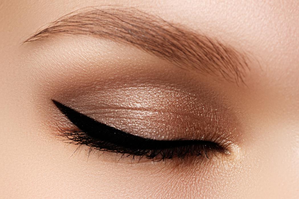 maquillage yeux marron