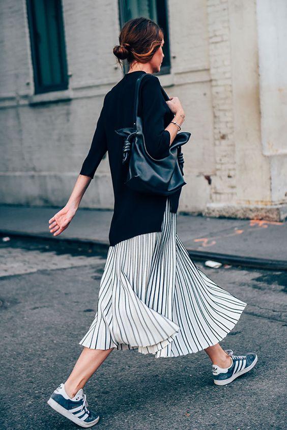 Gazelle adidas femme look