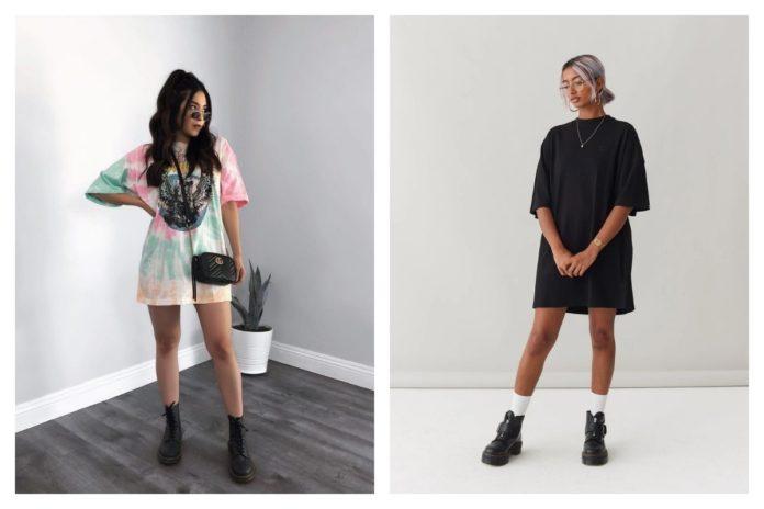 Robe T shirt conseils et 6 idées looks pour bien la porter
