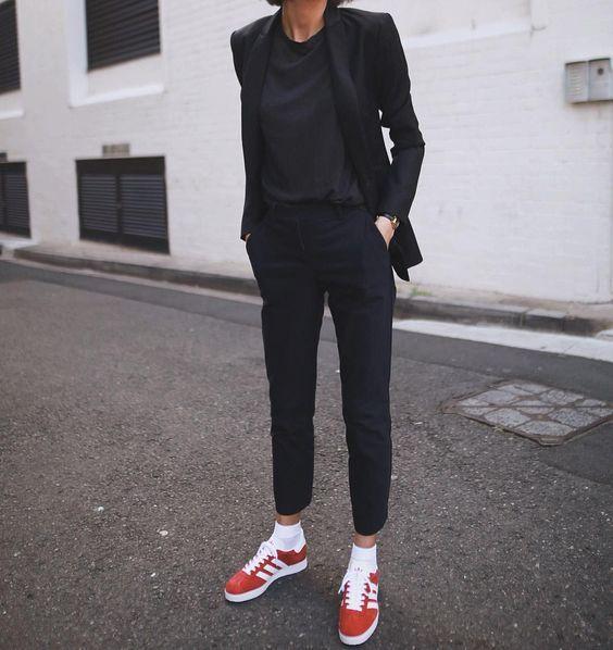 porter gazelle adidas femme